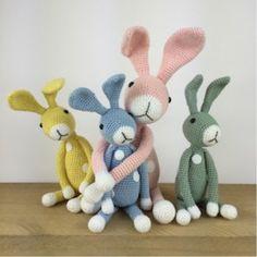 Crochet Bunny Friends