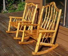 log chair plans | Rustic Log Rocking Chair Plans Free Ideas PDF Ebook Download UK