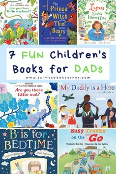 Give the gift of reading to dad and his child. These books will help create precious memories for years to come! [] Jaime's Book Corner