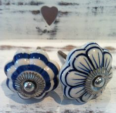 flower drawer knobs by french grey interiors | notonthehighstreet.com