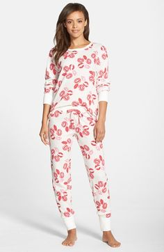 PJ+Salvage+Thermal+Pajamas+available+at+#Nordstrom