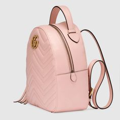 Gucci GG Marmont quilted leather backpack view 2 - Gucci Handbags - Ideas of Gucci Handbags - Gucci GG Marmont quilted leather backpack view 2 Gucci Handbags, Luxury Handbags, Purses And Handbags, Gucci Bags, Mini Backpack, Leather Backpack, Backpack Straps, Backpack Bags, Designer Handbags For Less