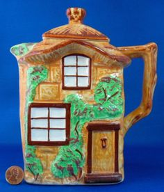 Cottage Ware Hot Water Pot Tall Teapot Westminster Vintage