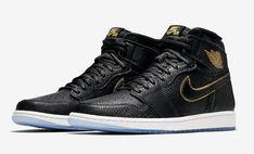 0b76be8e8213 Air Jordan 1 Retro High OG LA Size Run Mens Color  Black Metallic