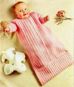 Knitting Pattern For Baby Grow Bag : 1000+ images about Baby Sleeping bags on Pinterest Baby sleeping bags, Slee...