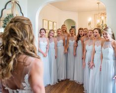 Pro Golfer Smylie Kaufman's Classic Wedding in Birmingham, Alabama Amsale Bridesmaid, Green Bridesmaid Dresses, Prom Dresses, Formal Dresses, Wedding Dresses, Bridesmaid Ideas, Blue Wedding, Wedding Colors, Real Weddings