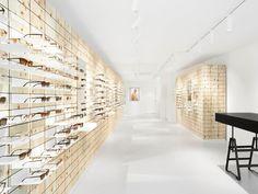 High-quality designer glasses from 175 CHF. ▶ Visit us. Oversize Look, Eye Exam, Optician, Minimalist Interior, Minimalism, Sunnies, Sunglasses, Chf, Interior Design