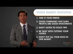 VIDEO - 6 Rules for Stock Market Investing: http://premium.docstoc.com/video/150965257/6-Rules-for-Successful-Stock-Market-Investing