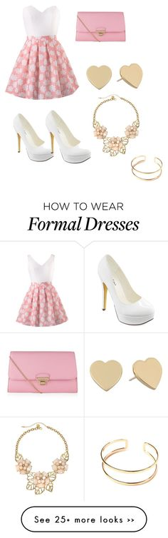 """""""formal but not too flashy"""" by fashionista4eva2014 on Polyvore"""