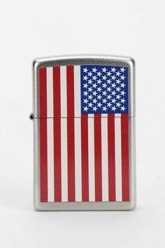 American Flag Zippo