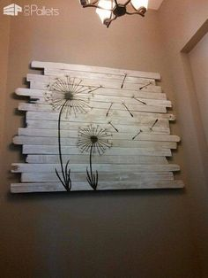 Quirky Pallet Art Helped Sell A Home! How I created a piece of pallet art at the time of selling a property, which attracted a buyer and helped me sell the property quickly.