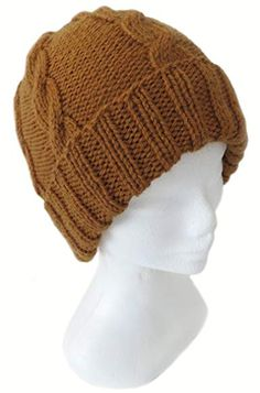 d1b8dbc0ea1 Handmade Pure Alpaca Cable Hat - Men and Women (Made to Order) Review Winter