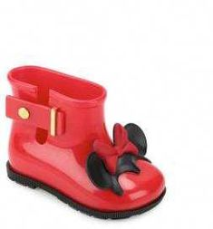 432ae55443b Mini Melissa Toddler s  amp  Girl s Sugar Rain Disney Twins Boots Minnie  Mouse Toys
