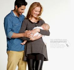 Slimming Maternity and Nursing Tunic Top $74.95