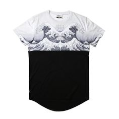 standard fit, true to size cut and sew, featuring a scooped back hem, sublimated yoke and sleeves, and black 100% cotton body SHIPPING AUSTRALIA:...