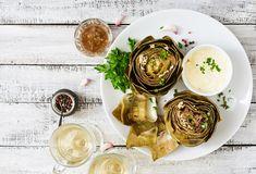 Día 1 del #RetoPaleo: en la cena, prepara estas alcachofas a la parrilla con guacamole o dip de aguacate con limón. ¡Anímate a probar esta dieta 100% Paleo que está cambiando la vida de muchos!