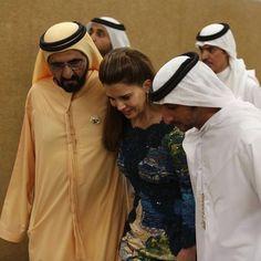 Mohammed bin Rashid bin Saeed Al Maktoum, Haya bint Al Hussein y Juma bin Dalmook bin Juma Al Maktoum, DWC, Vía: mrs_almaktoum Princess Haya, Jordan Royal Family, Royals, Egypt, Dubai, Families, Father, King, Amor