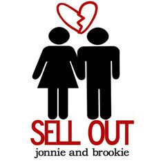 """Jonnie & Brookie cd cover """"Sell Out"""""""
