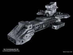 Stargate SG1 - The Prometheus. More later on this ship and its significance.