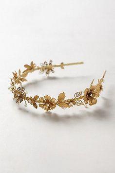 Gilded Bloom Headband #anthrofave