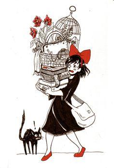 Kiki's Delivery Service by Moondrophime.deviantart.com on @DeviantArt