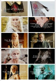 Dany and Stannis