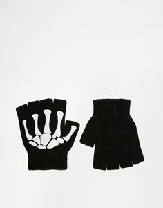 ASOS Halloween Skeleton Gloves