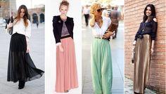 С чем носить шелковую юбку: секреты правильного сочетания.