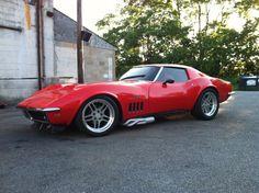 pro-touring c3 corvette   1969 Corvette Pro Street Build