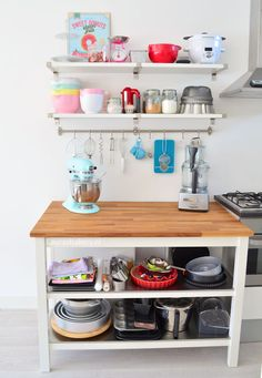 Kijkje in de keuken: Baking station - Laura's Bakery