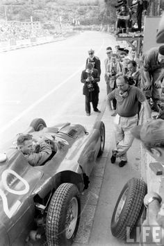 Fangio.. motor racing, motor sports