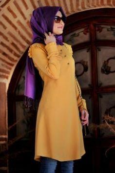 Style Fırfırlı Tunik - Hardal -Gamze Polat #modasto #giyim #moda https://modasto.com/gamze-ve-polat/kadin/br18174ct2