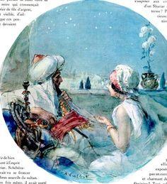 Antoine Calbet - Le veuvage de Shéhérazade