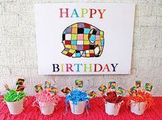 Rainbow-Elephant-Birthday-Celebration-Colorful-Sign #babyshowerideas4u #birthdayparty  #babyshowerdecorations  #bridalshower  #bridalshowerideas #babyshowergames #bridalshowergame  #bridalshowerfavors  #bridalshowercakes  #babyshowerfavors  #babyshowercakes