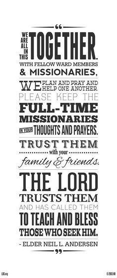 We are all missionaries