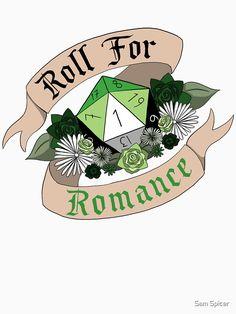 'Roll For Romance - Aromantic Pride [Crit Fail]' T-Shirt by Sam Spicer Roll For Romance - Aromantic Pride [Crit Fail] T-shirt by flailingmuse Ace Pride, Dungeons And Dragons, Tshirt Colors, Fails, Romance, Gender, Artist, Arrows, Saga