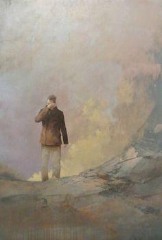 Federico Infante, The last poet, acrylic on canvas, 121 x 76 cm, 2014 #contemporary #art #painting