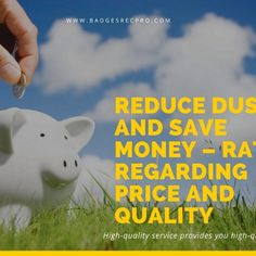 Reduce dust and save money – ratio regarding price and quality