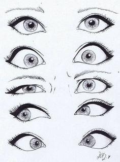 глаза рисовать - Поиск в Google