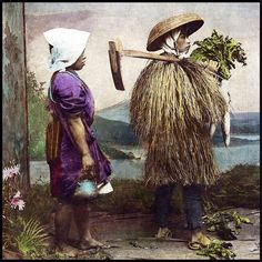A JAPANESE FARMER AND HIS WIFE by Okinawa Soba, via Flickr
