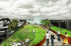 New Renderings for the QueensWay, Repurposing an Abandoned Railroad in Queens... Check out the new designs and renderings for the proposed QueensWay, Queens' very own Highline-style park from the Emerging New York Architects competition.