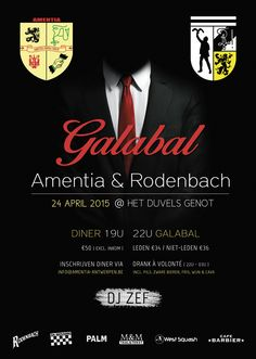 Poster for Prom of Amentia & Rodenbach