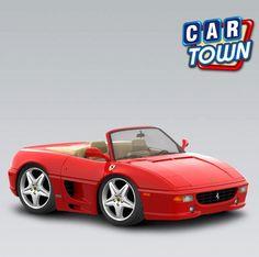 Novedad de hoy en Car Town: el Ferrari 355 F1 Spider 1997! ¡Añade este deportivo rápido y raro para tu establo Ferrari mientras puedes!    25/01/2013