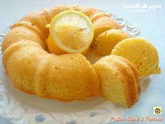 Ciambella allo yogurt con limone senza zucchero e senza burro