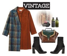 """Vintage Style"" by betulkizilirmaak ❤ liked on Polyvore featuring Seychelles, Toast, Urban Decay, vintage, chic and women"