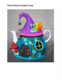25 Crochet Knit Tea Cozy Free Patterns [Picture Instructions]: Crochet Teapot Cozy, Tea Pot Cosy Cover Free Patterns Round Up Crochet Kitchen, Crochet Home, Crochet Gifts, Irish Crochet, Knit Crochet, Free Crochet, Tunisian Crochet, Crochet Granny, Champignon Crochet