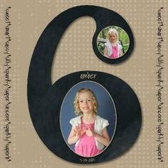 Birthday scrapbook layout designed with My Digital Studio software from Stampin' Up!