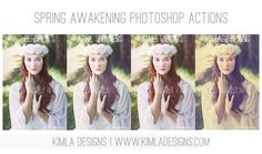 Free Photoshop Actions by Kimla Designs & Photography