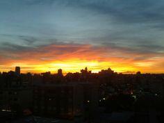 Pôr do Sol de Caxias do Sul...