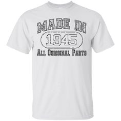 Hi everybody!   Made in 1945 all original parts t shirt   https://zzztee.com/product/made-in-1945-all-original-parts-t-shirt/  #Madein1945alloriginalpartstshirt  #Madeshirt #in #1945original #allshirt #original #parts #t #shirt #